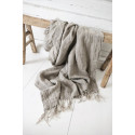 Love of linen throw